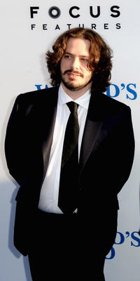 Director Edgar Wright at the California premiere of