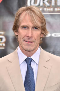 Michael Bay at the New York premiere of