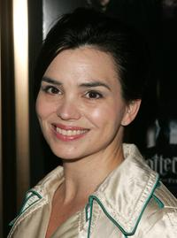 Karen Duffy at the premiere of
