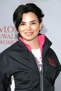 Karen Duffy at the 8th Annual Revlon Run / Walk for Women.