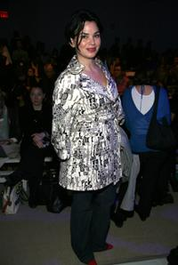 Karen Duffy at the Nanette Lepore Fall 2008 fashion show during the Mercedes-Benz Fashion Week Fall.