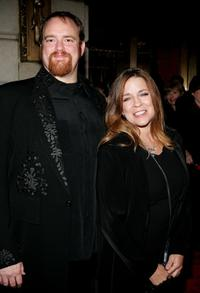 John Carter Cash and Carlene Carter at the opening night of