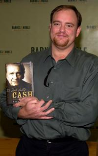 John Carter Cash at the signing copies of