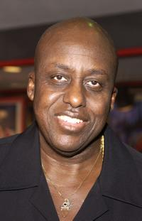 Bill Duke at the ceremony inducting actor-singer Isaac Hayes into the Hollywood RockWalk at Guitar Center.