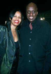 Bill Duke and Shelly Moses at the premiere of the new film
