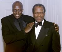 Bill Duke and Sidney Poitier at the ASCAP's 16th Annual Film and Television Music Awards at the Beverly Hilton Hotel, Beverly Hills.