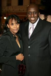 Bill Duke and Michelle Revere at the premiere of