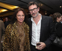 Jacqueline Bisset and Michel Hazanavicius at the after party of California premiere of