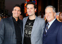 Oren Aviv, producer Todd Lieberman and David Hoberman at the world premiere of