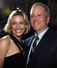 Piper Perabo and David Hoberman at the world premiere of