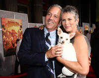 David Hoberman and Jamie Lee Curtis at the world premiere of