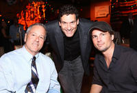 David Hoberman, Oren Aviv and Len Wiseman at the after party of the world premiere of