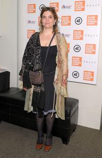 Agnes Jaoui at the screening of