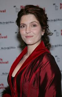 Agnes Jaoui at the New York Film Festival opening night screening of