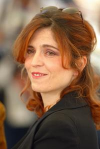Agnes Jaoui at the 57th Annual Cannes Film Festival.