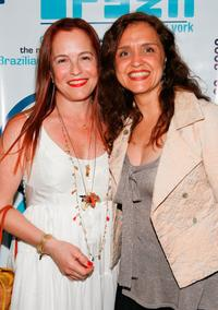 Denise Dummont and Ilda Santiago at the world premiere of