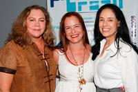 Kathleen Turner, Denise Dummont and Sonia Braga at the world premiere of
