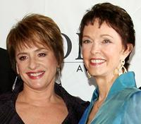 Patti LuPone and Deanna Dunagan at the 62nd Annual Tony Awards.