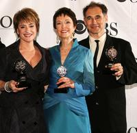Patti LuPone, Deanna Dunagan and Mark Rylance at the 62nd Annual Tony Awards.