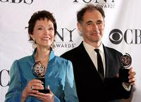 Deanna Dunagan and Mark Rylance at the 62nd Annual Tony Awards.