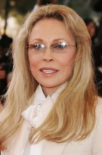Faye Dunaway at the 60th International Cannes Film Festival for the premiere of