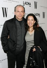 Tomas Arana and wife at the Inaugural Avant-Garde Gala.
