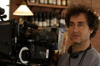 Director Doug Liman on the set of