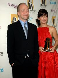 Douglas McGrath and Sandra Bullock at the Hollywood Film Festival 10th Annual Hollywood Awards Gala Ceremony.