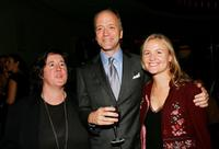 Producer Christine Vachon, Douglas McGrath and Jocelyn Hayes at the after party of the premiere of
