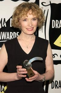 Lindsay Duncan at the 47th Annual Drama Desk Awards.