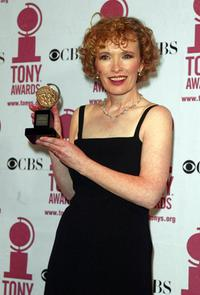 Lindsay Duncan at the 2002 Tony Awards in New York.