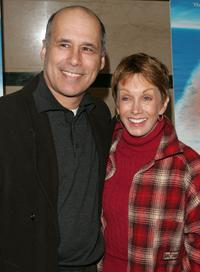 Sandy Duncan and her husband at the New York premiere of