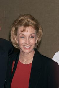 Sandy Duncan at the New Dramatists presentation of a Lifetime Achievement Award to Arthur Miller at the Marriott Marquis in New York City.