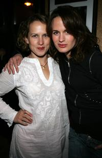 Jennifer Dundas and Elizabeth Reaser at the Cinetic Media Party during the Sundance Film Festival.