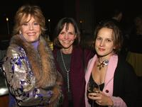 Jane Fonda, Sally Field and Jennifer Dundas at the after party of the Opening Night of