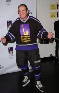Paul Guilfoyle at the 2nd Annual Stars With Sticks Celebrity Hockey Game.