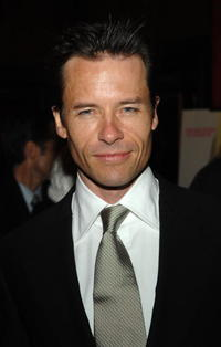 Guy Pearce at the premiere of ''Factory Girl''.
