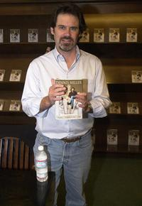Dennis Miller at the book signing of