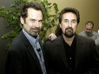 Dennis Miller and Bryce Zabell at the Writers Guild Panel