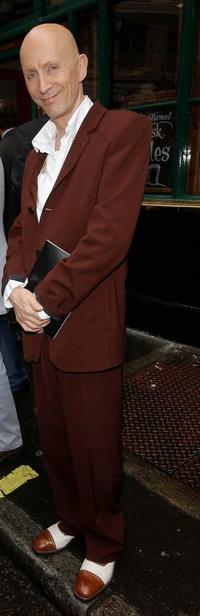 Richard O'Brien at the Guys and Dolls press night.