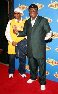 George Wallace at the 2007 NBA All-Star Game.