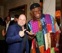 Jason Alexander and George Wallace at the screening of