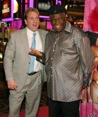 Don Marrandino and George Wallace at the X Burlesque show.
