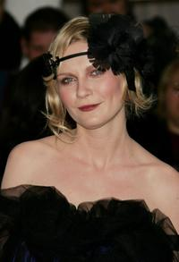 Kirsten Dunst at the Metropolitan Museum of Art Costume Institute Benefit Gala