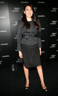 Ahn Duong at the Chanel Tribeca Film Festival Dinner.