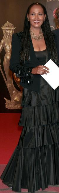 Zeudi Araya at the David di Donatello 2007 Italian Awards.