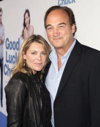Jim Belushi and his wife Jennifer at the premiere of