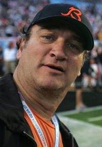 Jim Belushi at the Super Bowl XLI.