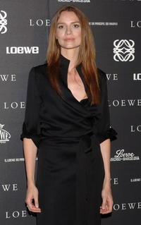 Saffron Burrows at the 160th Anniversary Loewe dinner in Madrid.