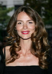 Saffron Burrows at a screening of